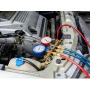 Диагностика и заправка кондиционера автомобиля