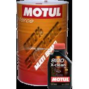 Масла MOTUL 8100 X-clean 5W-40