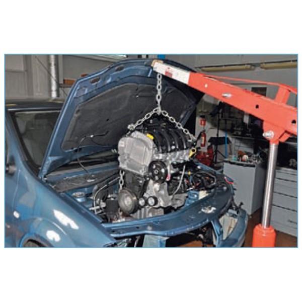 Снимаем двигатель своими руками 250