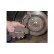Передние тормозные колодки - замена