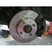 Передние тормозные диски - замена
