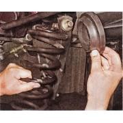 Пружины амортизаторов передних - замена